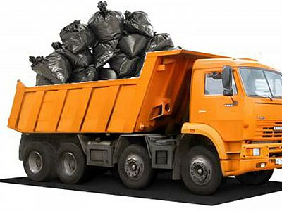 Вывоз мусора самосвалом в Климовске