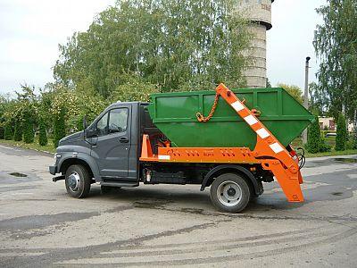 Вывоз мусора контейнером в Климовске