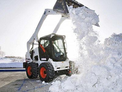 Уборка снега в Воскресенске