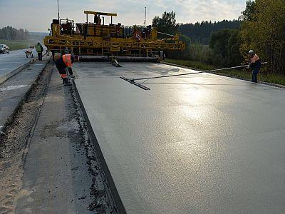 Дорожный бетон в Абрамцево