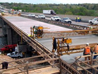 Мостовой бетон в Верее